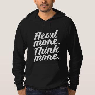 Read More Think More Hoodie