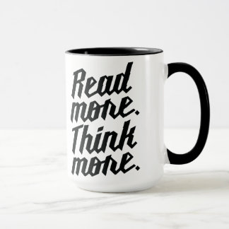 Read More Think More Mug
