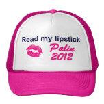 Read My Lipstick Hat