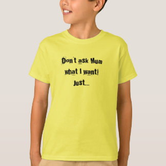Read My List Kids Tshirt