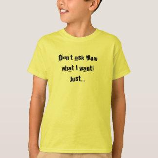 Read My List Kids Tshirt