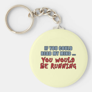 Read My Mind Keychain