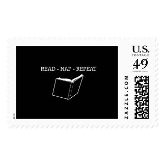Read Nap Repeat Postage