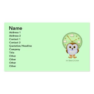 Read O'Clock Business Card