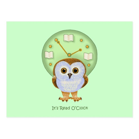 Read O'Clock Postcard