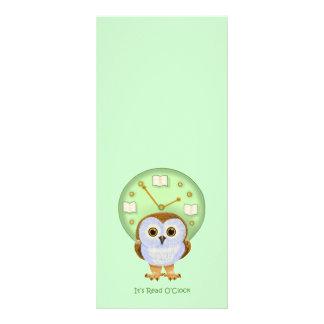 Read O'Clock Rack Card