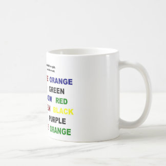 Read or say color mugs