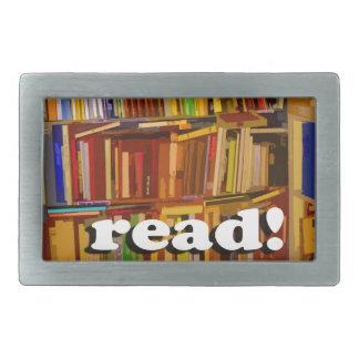 Read! Photo Belt Buckle