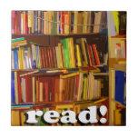 Read! Photo Ceramic Tiles