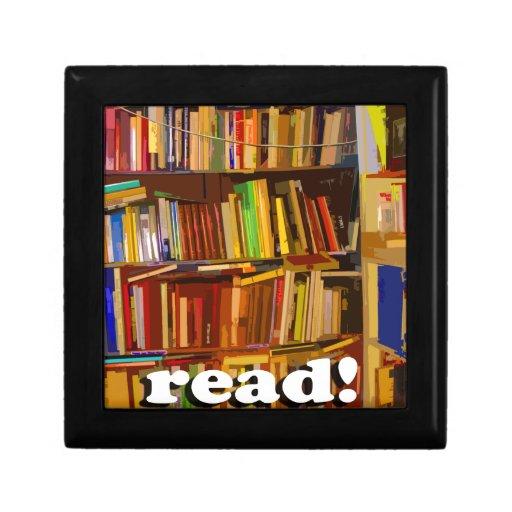 Read! Photo Keepsake Box