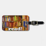 Read! Photo Luggage Tags
