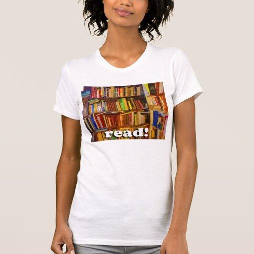 Read! Photo Tshirts