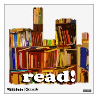 Read! Photo Wall Sticker