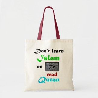 Read Quran for learning Islam Tote Bag