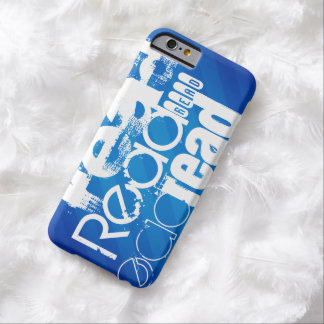 Read; Royal Blue Stripes Barely There iPhone 6 Case