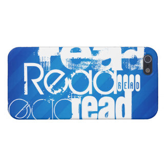 Read; Royal Blue Stripes Cover For iPhone 5