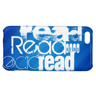 Read; Royal Blue Stripes iPhone 5C Cases