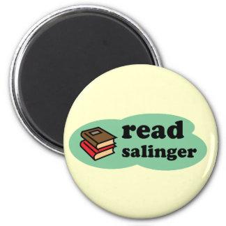 Read Salinger 2 Inch Round Magnet
