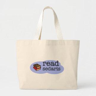 Read Sedaris Large Tote Bag