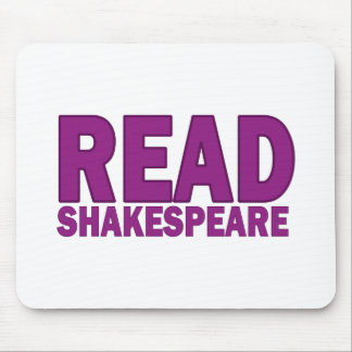 Read Shakespeare Mouse Pad
