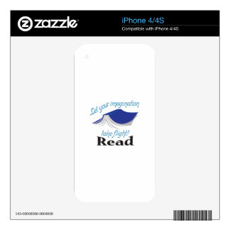 READ DECAL FOR iPhone 4