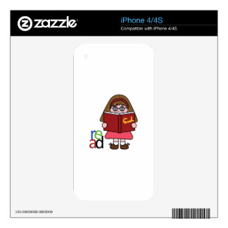 READ SKINS FOR iPhone 4S