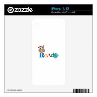 READ DECAL FOR iPhone 4S