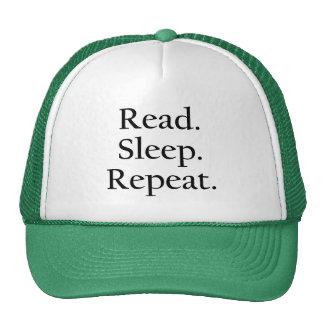 Read. Sleep. Repeat. Trucker Hat