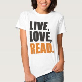 read t shirt