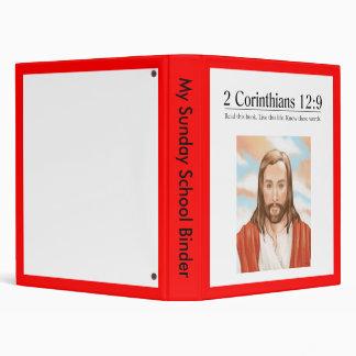 Read the Bible 2 Corinthians 12:9 Vinyl Binders