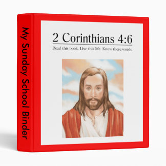 Read the Bible 2 Corinthians 4:6 3 Ring Binder