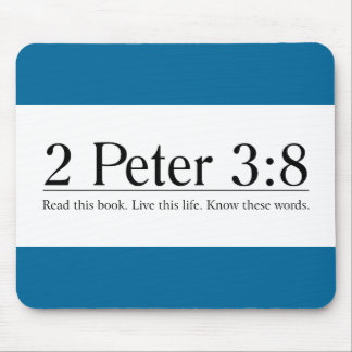 Read the Bible 2 Peter 3:8 Mouse Pad
