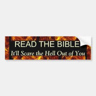 Read the Bible Car Bumper Sticker