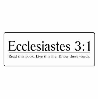 Read the Bible Ecclesiastes 3:1 Statuette