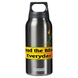 READ THE BIBLE EVERYDAY INSULATED WATER BOTTLE