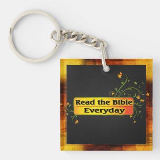 READ THE BIBLE EVERYDAY KEYCHAIN