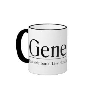 Read the Bible Genesis 1 Ringer Coffee Mug