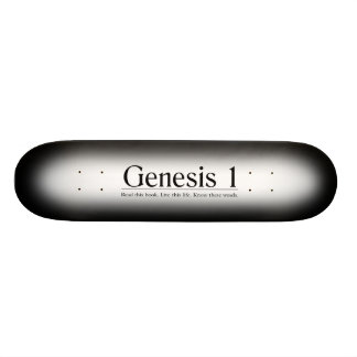 Read the Bible Genesis 1 Skate Decks