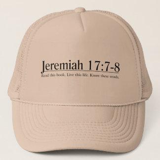 Read the Bible Jeremiah 17:7-8 Trucker Hat