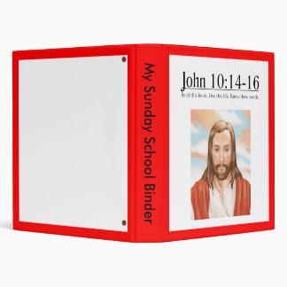 Read the Bible John 10:14-16 3 Ring Binder