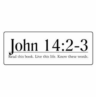Read the Bible John 14 2-3 Photo Cut Outs