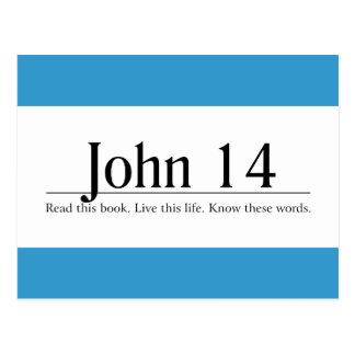 Read the Bible John 14 Postcard