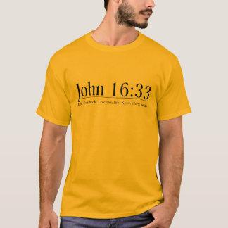 Read the Bible John 16:33 T-Shirt