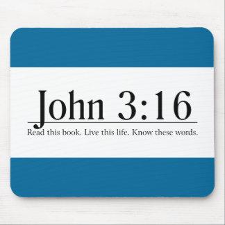 Read the Bible John 3:16 Mouse Pad