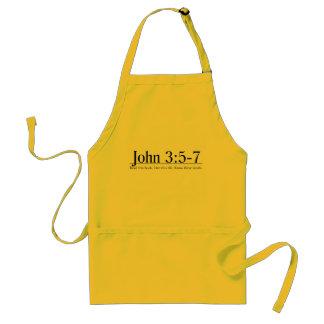 Read the Bible John 3 5-7 Apron