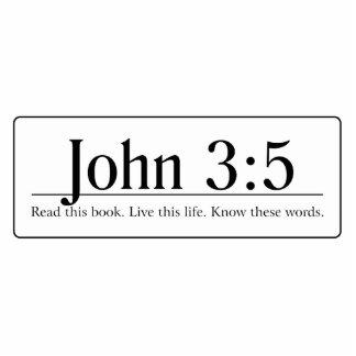 Read the Bible John 3 5 Photo Cut Out