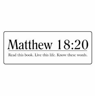 Read the Bible Matthew 18:20 Statuette