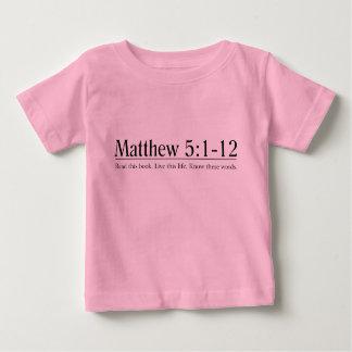 Read the Bible Matthew 5:1-12 Tee Shirt