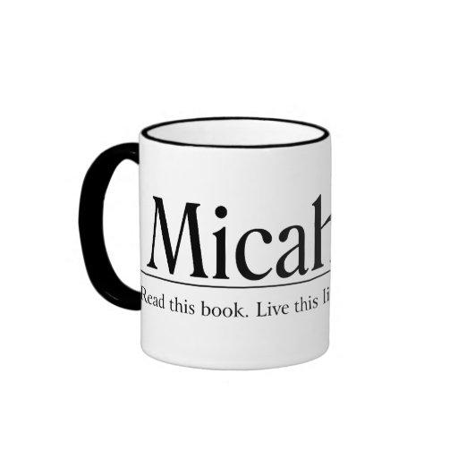 Read the Bible Micah 6:8 Coffee Mug