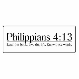 Read the Bible Philippians 4:13 Statuette